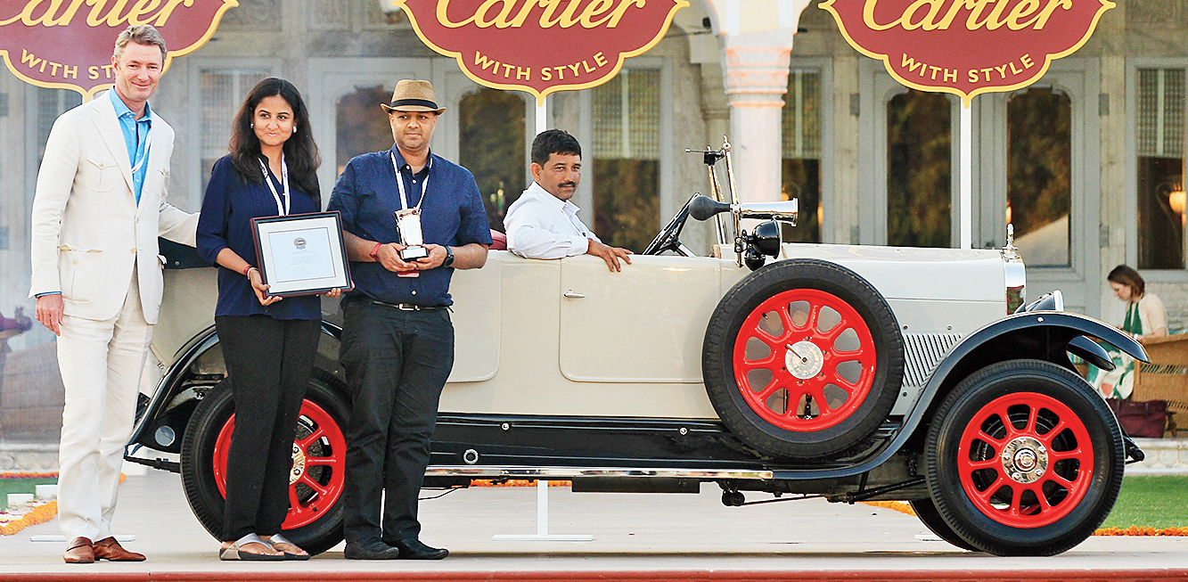 Ansaldos were Italian cars made mostly in the 1920s. This 1922 Tipo F owned by Nitin Dossa from Mumbai was brought back from near death and, fittingly, won the Cartier Resurrection Cup.