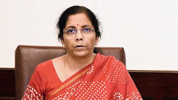 """""""Public sector banks sanctioned over Rs 1.03 lakh crore as emergency credit lines & working capital enhancements in the period March 20 to May 15, which is a substantial increase over the Rs 65,879 crore that had been sanctioned up to May 8,"""" Nirmala Sitharaman said."""