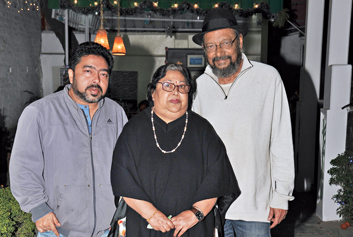 """Chanda had husband and songwriter-musician- filmmaker Anjan Dutt and their musician son Neel Dutt by her side. Anjan believes it is """"a strange kind of a dish""""... something so authentic that it's rare to find! """"The concoction of the broth is difficult and I have seen most people go wrong (with it). They just make a noodle soup, which Khow Suey is not. I feel Chanda's Khow Suey is close, if not exactly, the authentic Khow Suey recipe from Burma.... I think people like it because it has a completely different feel to it,"""" he said.  Neel picked Red and Gold Pork Curry as his favourite from mom's menu. """"It is quite popular among Calcuttans also. Khow Suey, on the other hand, is definitely a comfort food as it is so creamy and nice. Khow Suey actually refers to 'noodles' in Burma and the particular kind of Khow Suey we serve here is Ong No Khaukswey, which means noodles in a coconut and chicken broth,"""" he said."""