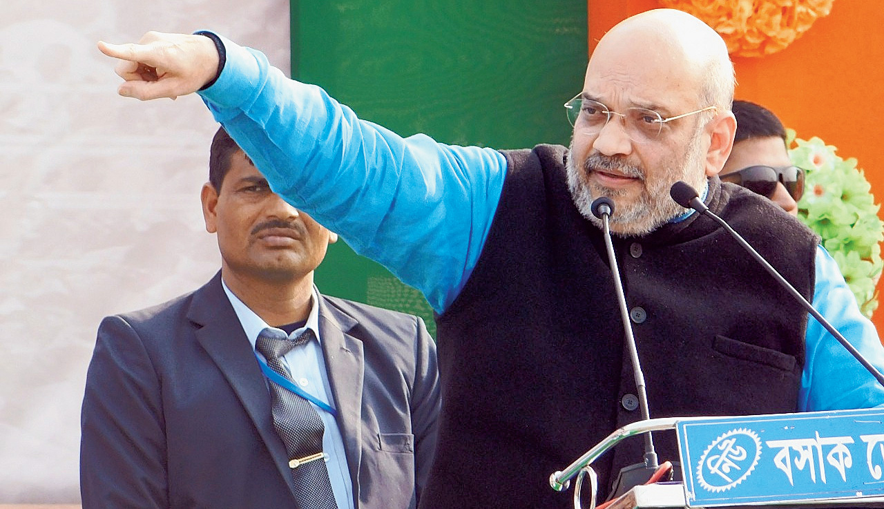 Opposition's Brigade rally was a tie-up of greed: BJP chief Amit Shah