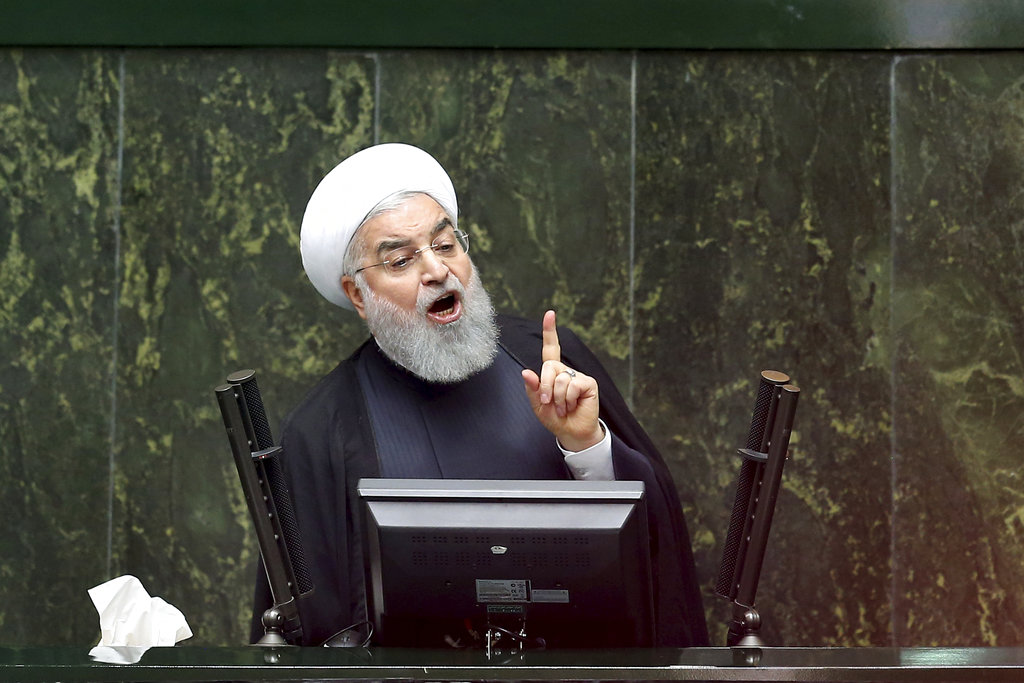 President Hassan Rouhani said Iran is able to sell its oil and it will sell.