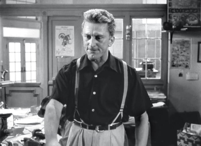 Kirk Douglas in Ace in the Hole (1951)