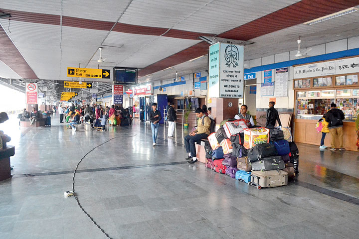 Tatanagar railway station on Friday.