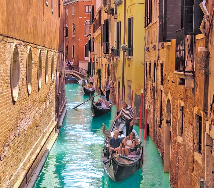 Venice brings warmth to the soul and it fills you with a longing to return