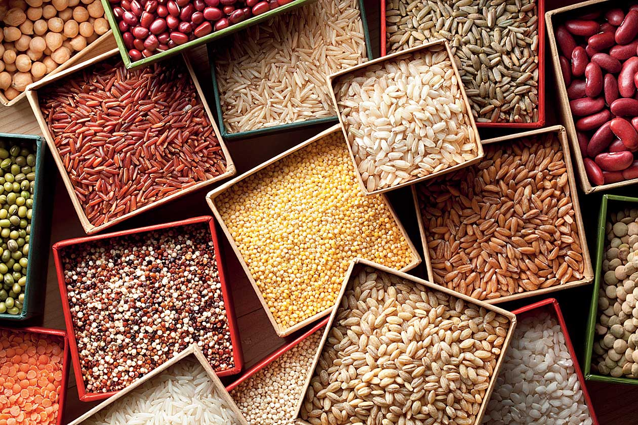 Millets and grains