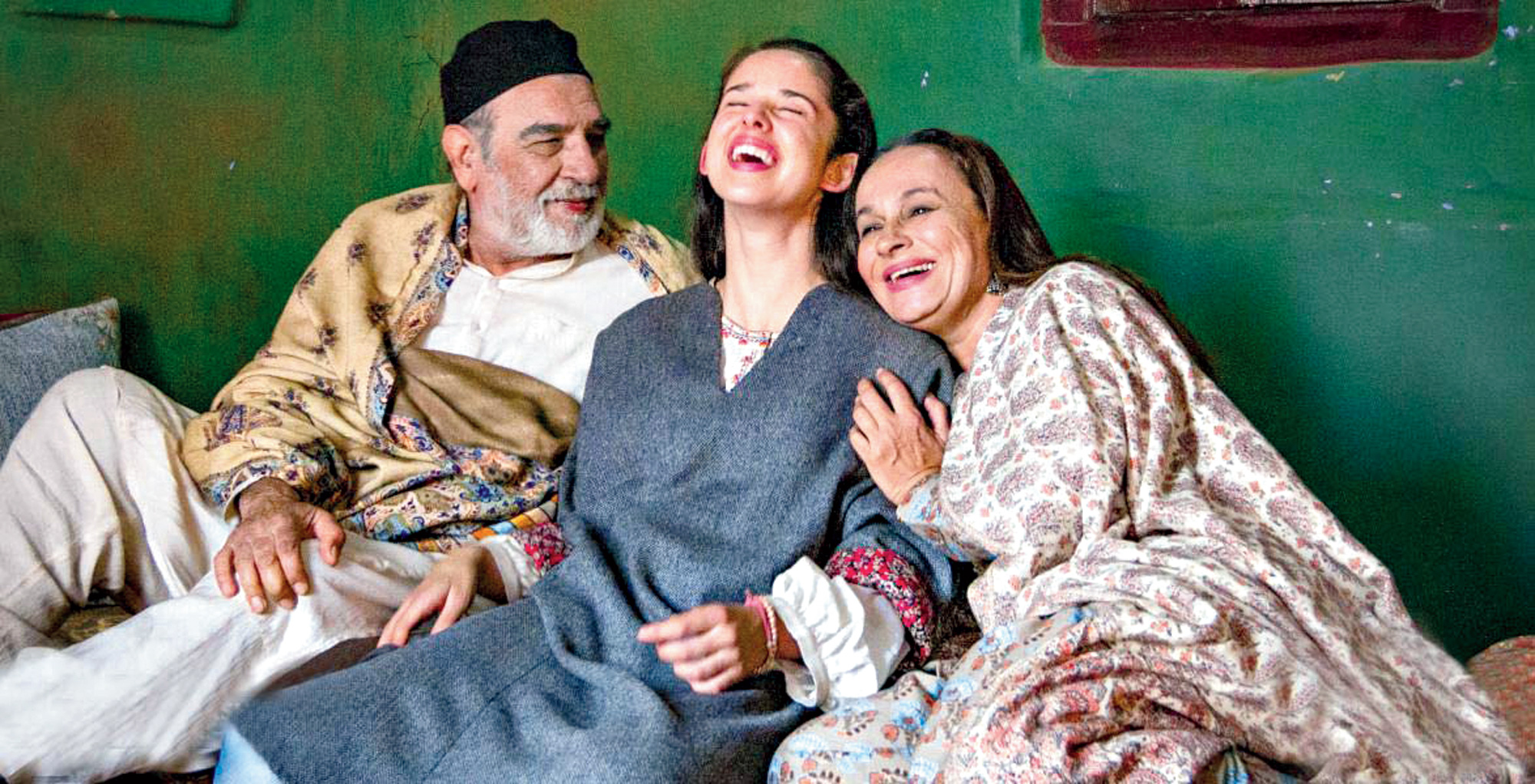 Kulbhushan Kharbanda, Zara Webb and Soni Razdan star in No Fathers In Kashmir