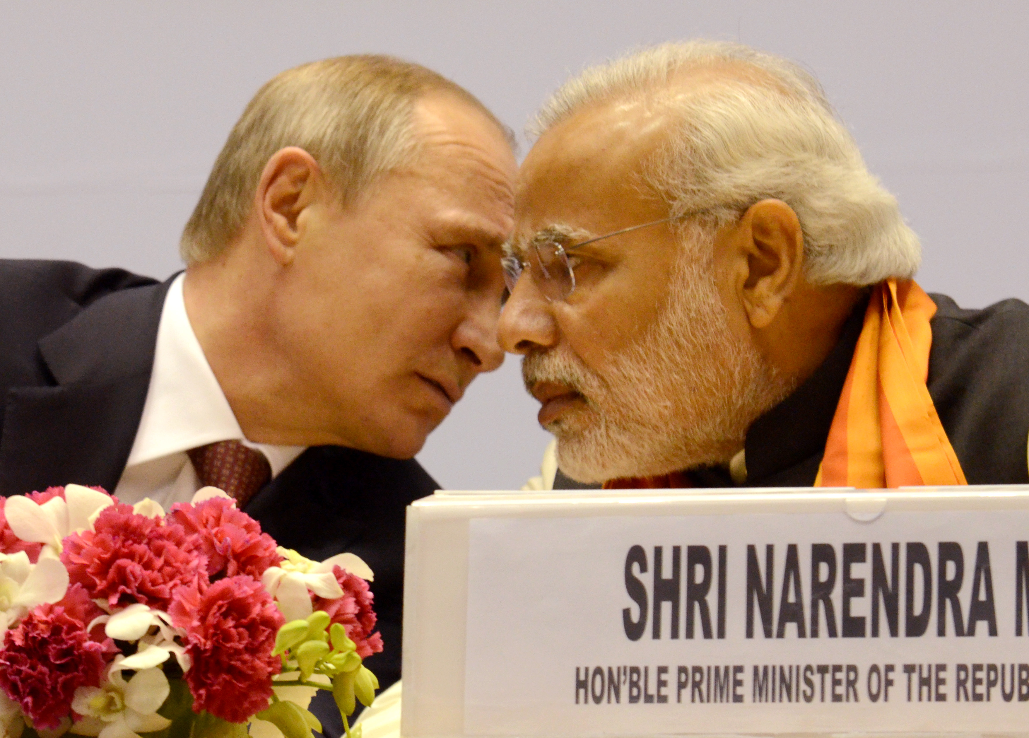 India and Russia's atmosphere of bonhomie is partly contrived out of necessity on both sides.