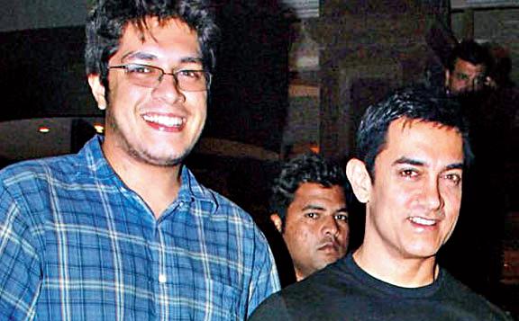 Aamir with son Junaid