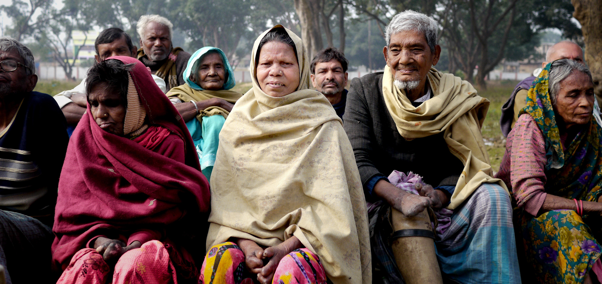 File picture of residents of the Munger Leper Colony in Munger, Bihar. In India, many who suffer from leprosy fear social stigma, but they are not the only ones reluctant to reveal the truth. The government is not ready to admit the scale of the problem either.