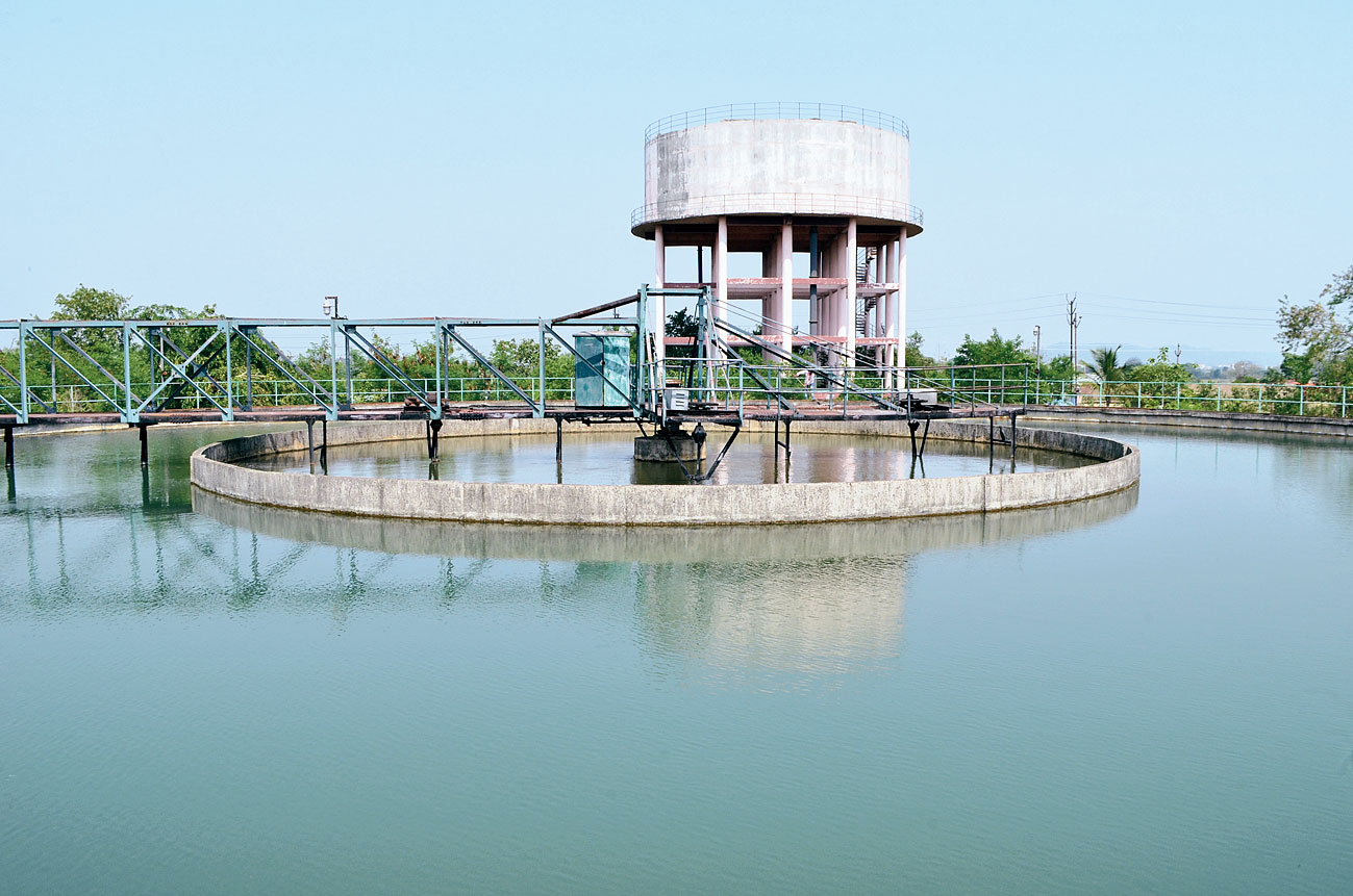 Bhelatand water treatment plant in Dhanbad.