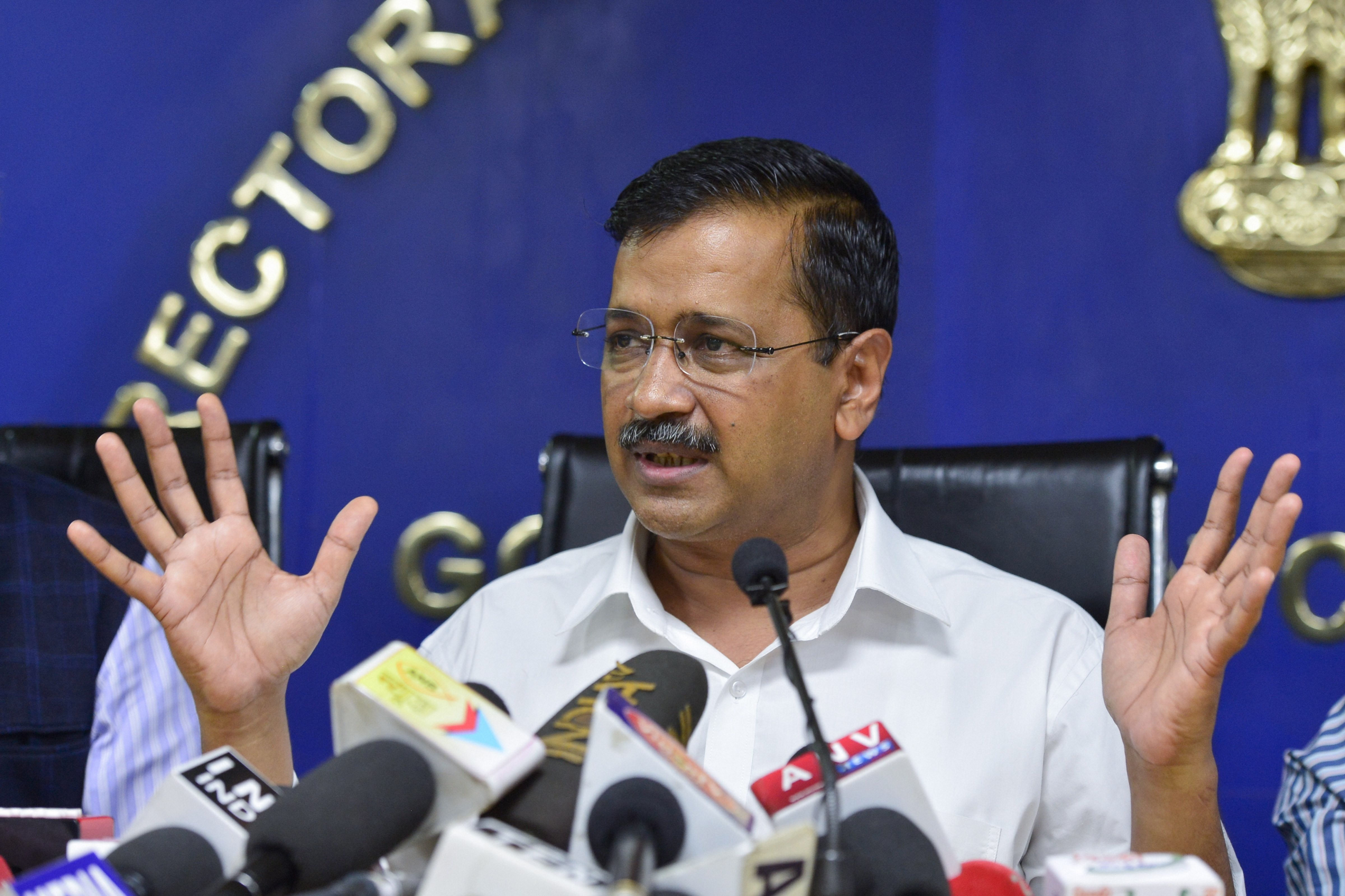 """Arvind Kejriwal said: """"We have seen a considerable rise in the number of Covid-19 cases in Delhi in the last few days. We are taking all measures possible to control the crisis. I am sure that our strategy to control the crisis will be successful."""