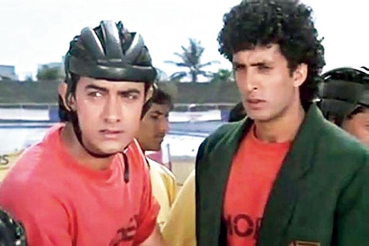 Amir Khan and Mamik Singh in a scene from Jo Jeeta Wohi Sikandar
