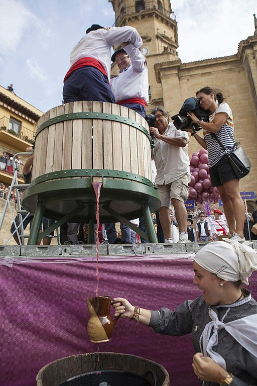 The modern-day celebration started in 1936 and has evolved into one of the largest wine festivals in the world