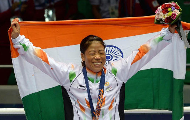 Mary Kom and her fist of fury