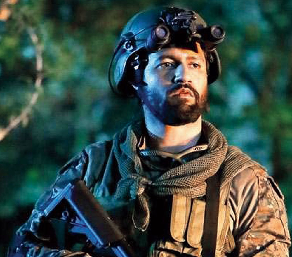 Vicky Kaushal plays the resilient Major Vihaan Singh Shergill