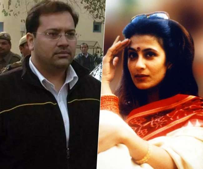 Manu Sharma (left), son of former Union minister Venod Sharma, was convicted and sentenced to life imprisonment by the Delhi High Court in December 2006 for killing Jessica Lal (right) in 1999.