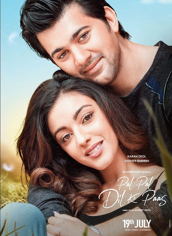 Karan Deol and Saher Bamba in 'Pal Pal Dil Ke Paas'