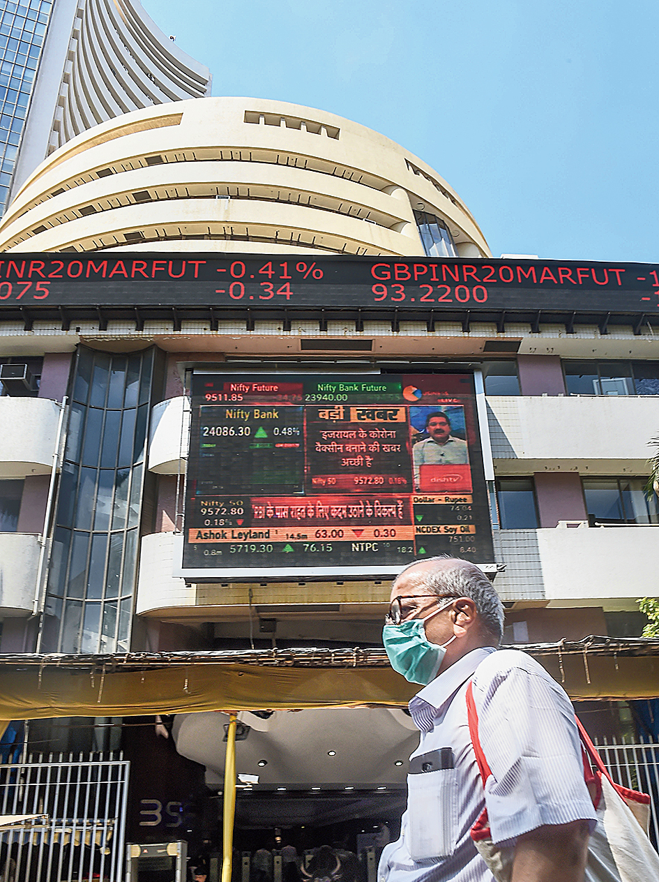 The benchmark Sensex fell about 12 per cent last week though the fall could have been larger had it not been for the rally on Friday when the Sensex rose 5.75 per cent.