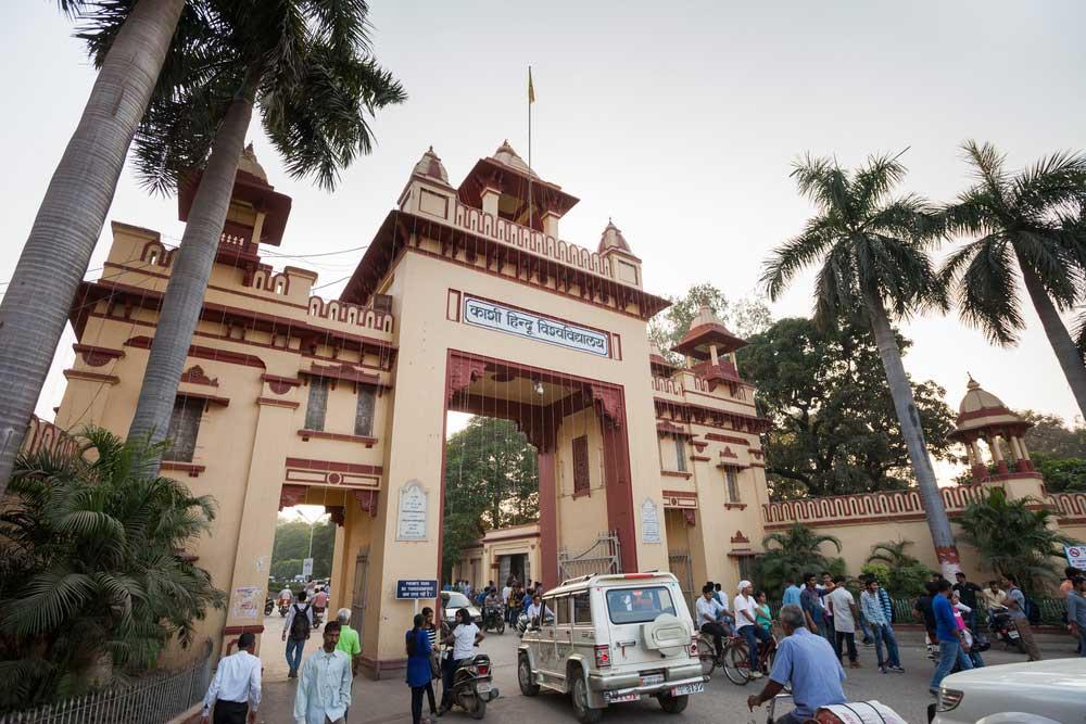 Banaras Hindu University on October 27, 2016.