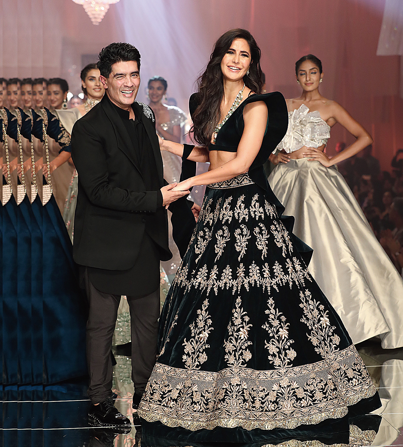 Katrina Kaif looked like a dream in the ornate lehnga