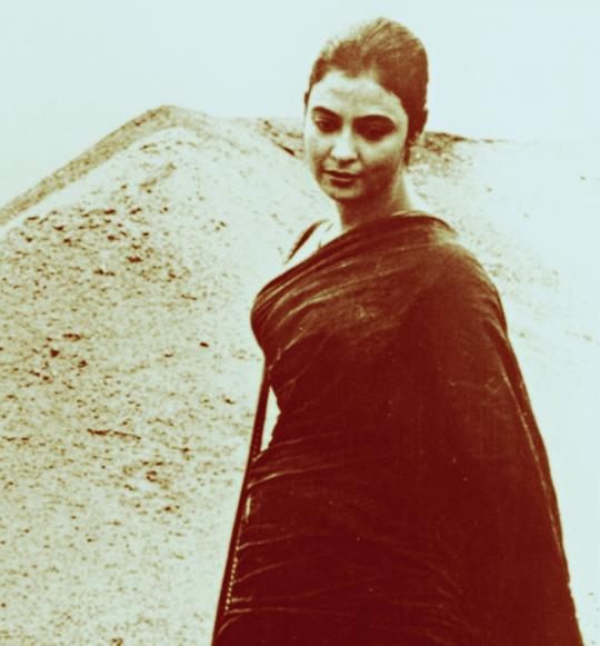 A still from Meghe Dhaka Tara
