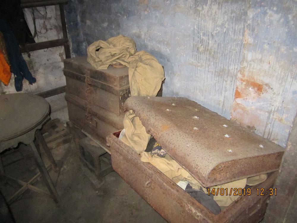 Benoy Kumar Nandy's trunk
