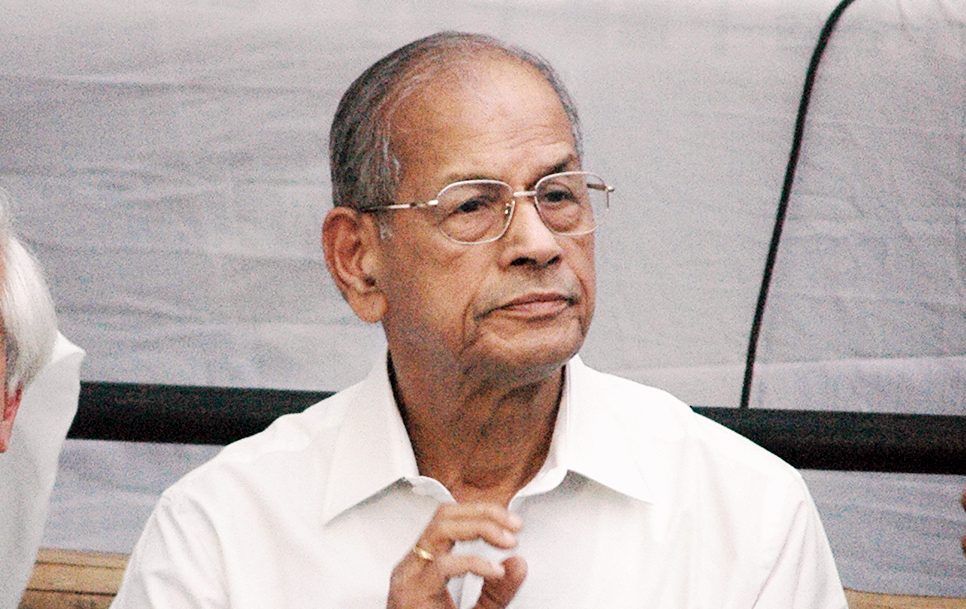 File picture of E. Sreedharan