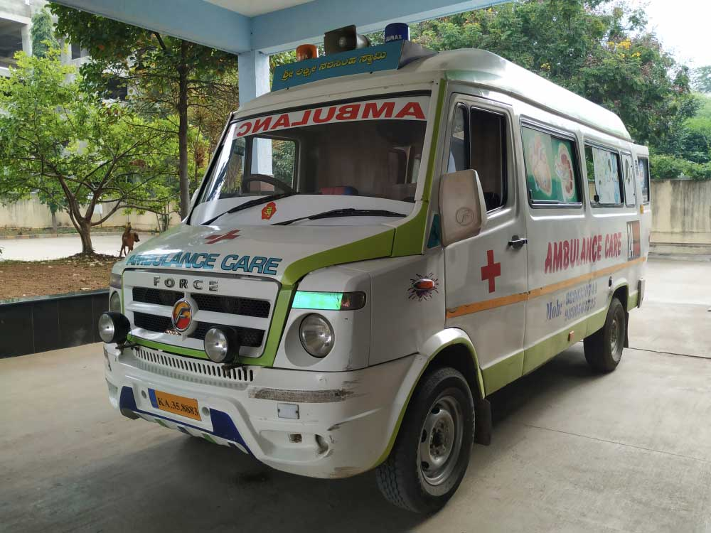 The police arranged another ambulance to take the patient, Bishal Karmakar, and the five others in the ambulance — the driver, the helper and three family members of the patient who were accompanying him — all of whom were injured, to the Assam Medical College and Hospital. (Shutterstock)