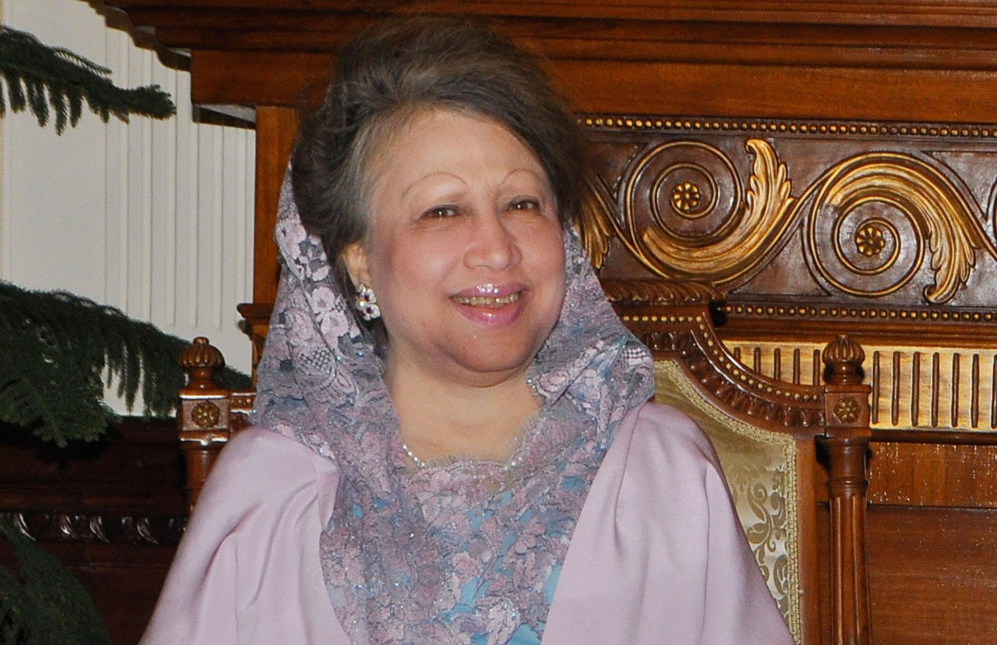 Jailed former Prime Minister Khaleda Zia