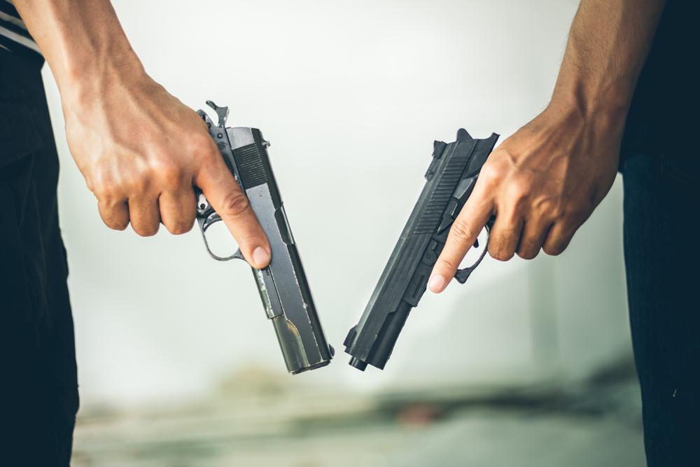 Babuli Kol, 36, and his brother-in-law Loveles Kol, 30, were killed in the Chamri forest area between Chitrakoot in Uttar Pradesh and Satna  in Madhya Pradesh, police said.