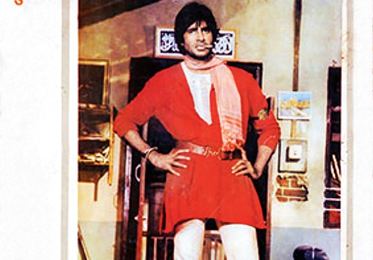 Amitabh Bachchan in the movie