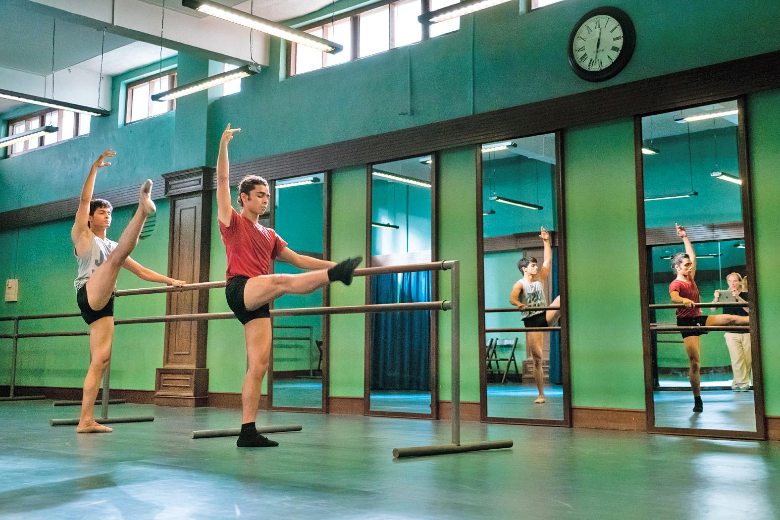 A still from 'Yeh Ballet'