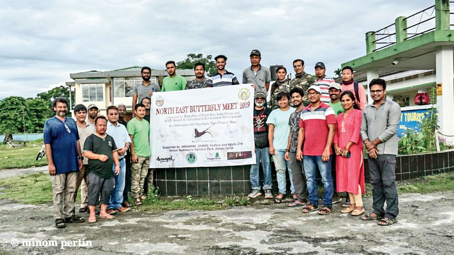 Minom Pertin, the deputy director of SEED said recently they had organised the Namdapha butterfly meet at Miao and a large number of participants across India participated in the event.