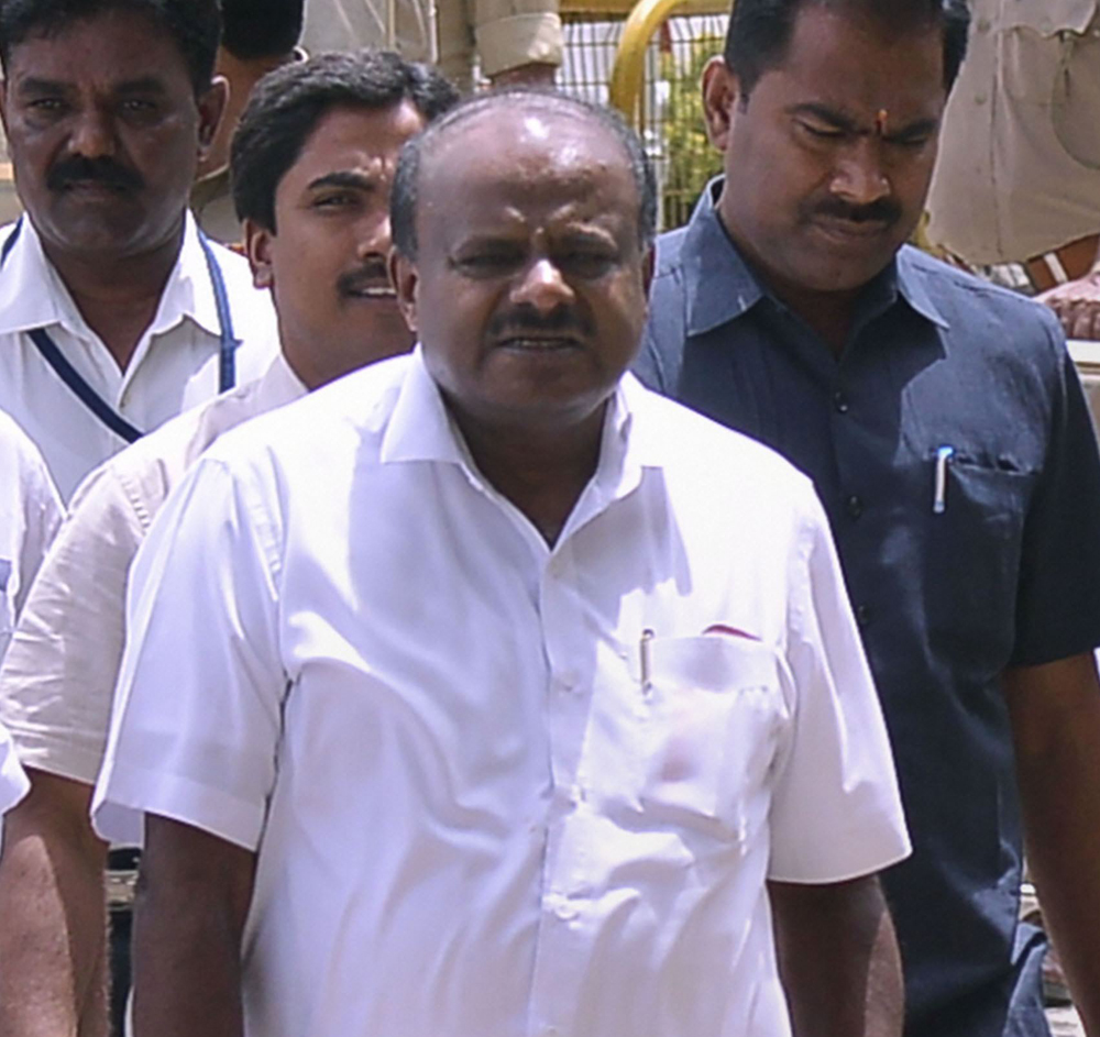 Within minutes of the court directions, chief minister H.D. Kumaraswamy asked Speaker Ramesh Kumar to fix a date for a trust vote, surprising and rattling the BJP which herded all its MLAs to a resort to shield them from possible poaching.