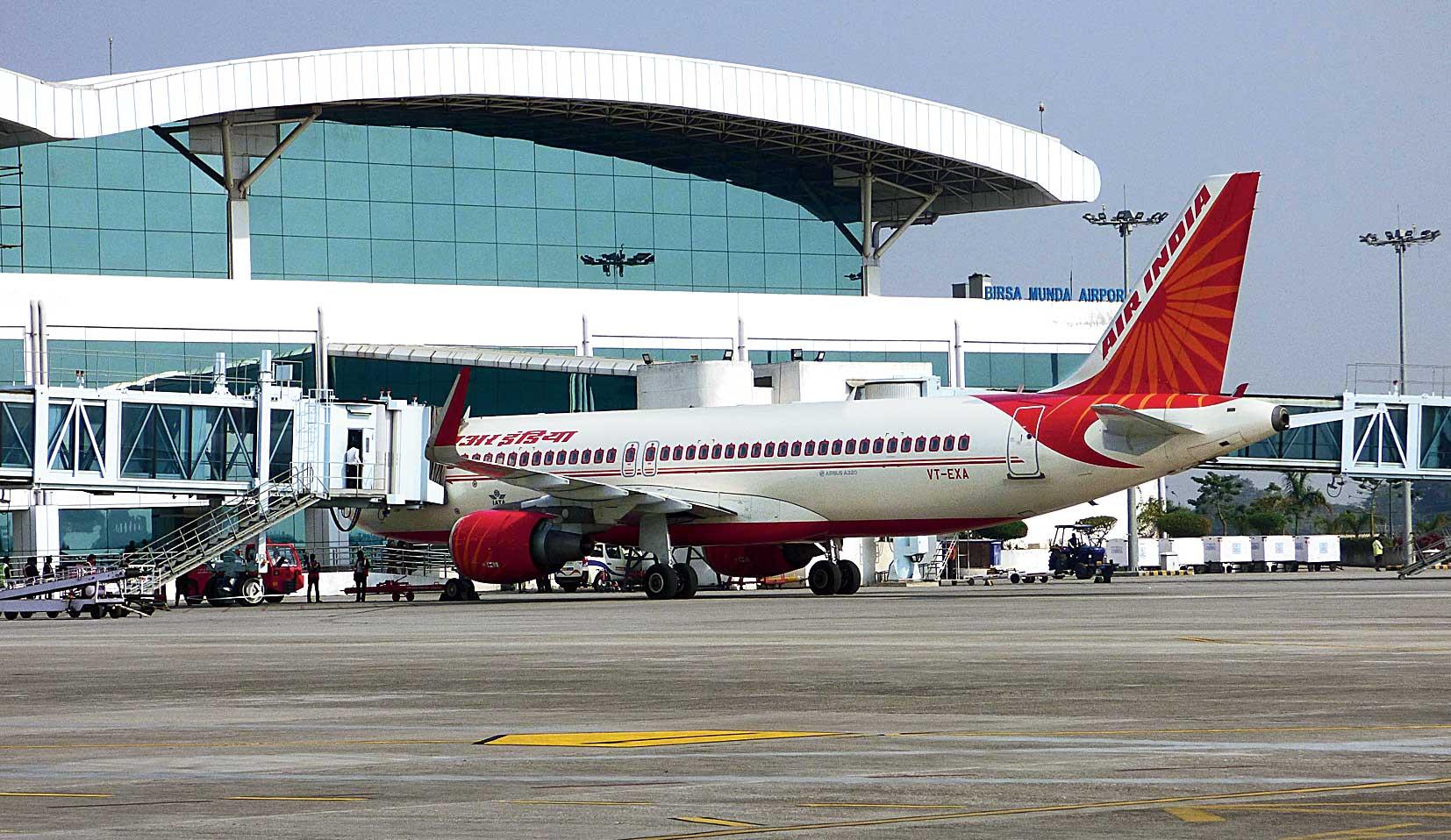 The existing apron at Birsa Munda Airport in Ranchi
