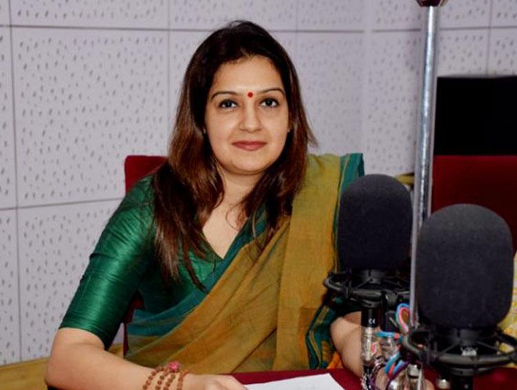 Former Congress spokesperson Priyanka Chaturvedi