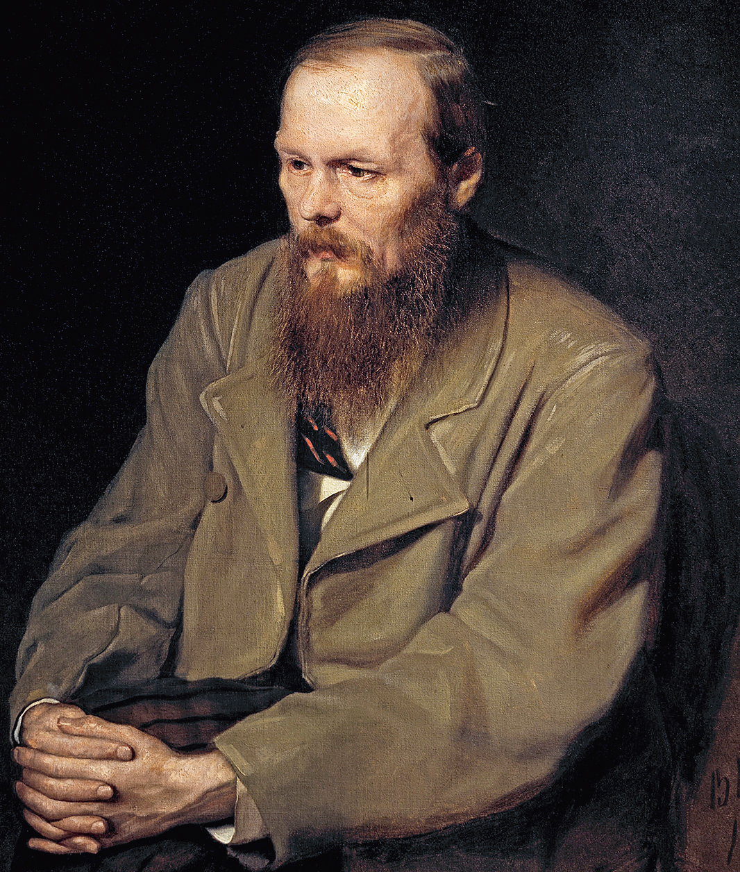 Portrait of Dostoyevsky by Vasily Perov, 1872