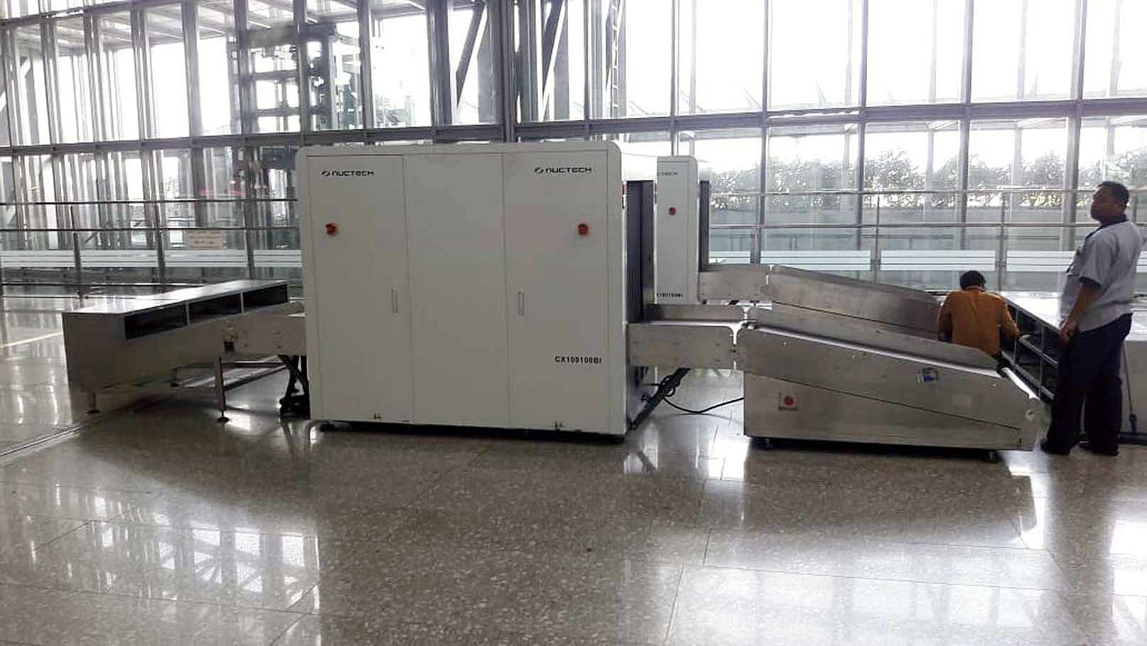 A standalone X-ray machine