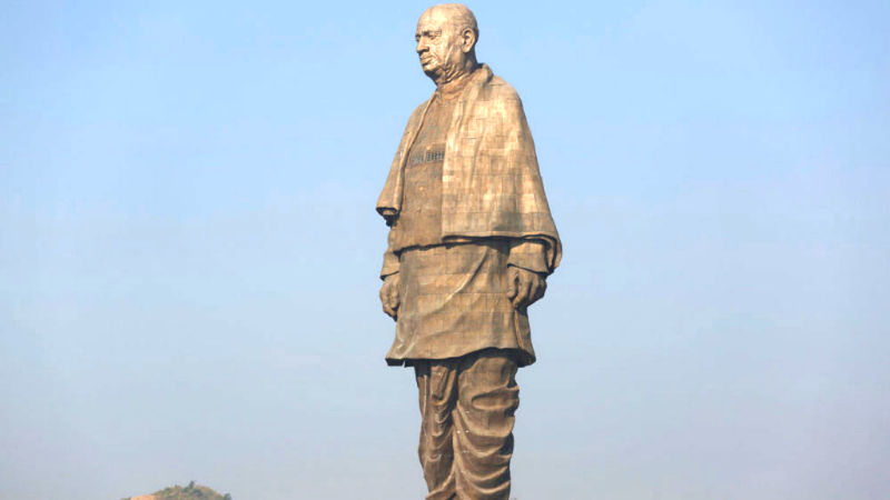 Congress chief Rahul Gandhi had set the tone for the party's intervention in the morning itself amid the unprecedented hype around the 182m Statue of Unity — the world's tallest statue — that Modi unveiled in Gujarat on Patel's 143rd birth anniversary