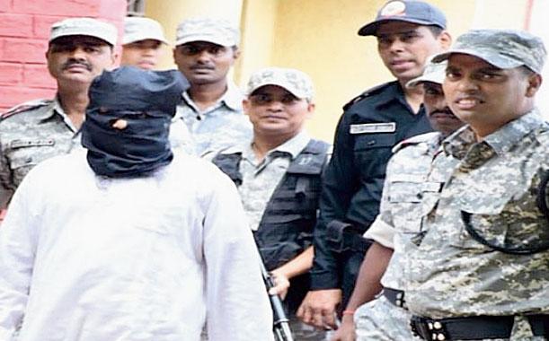 Md Kalimuddin Mujahiri in custody at the steel city earlier this week.