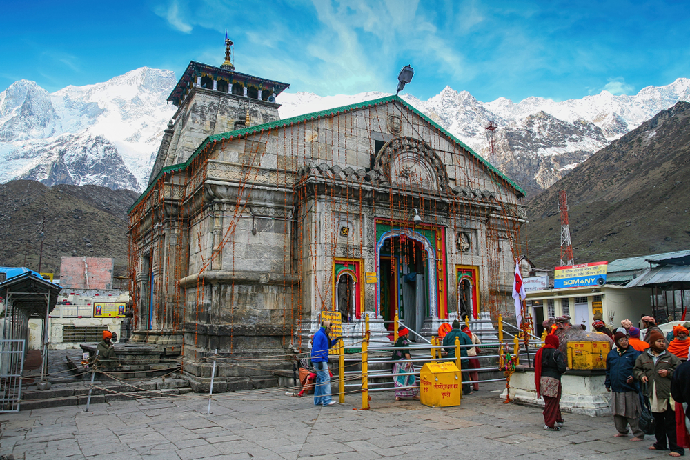 Kedarnath Temple is a Hindu temple dedicated to Lord Shiva, which located in the Garhwal Himalayas, India.