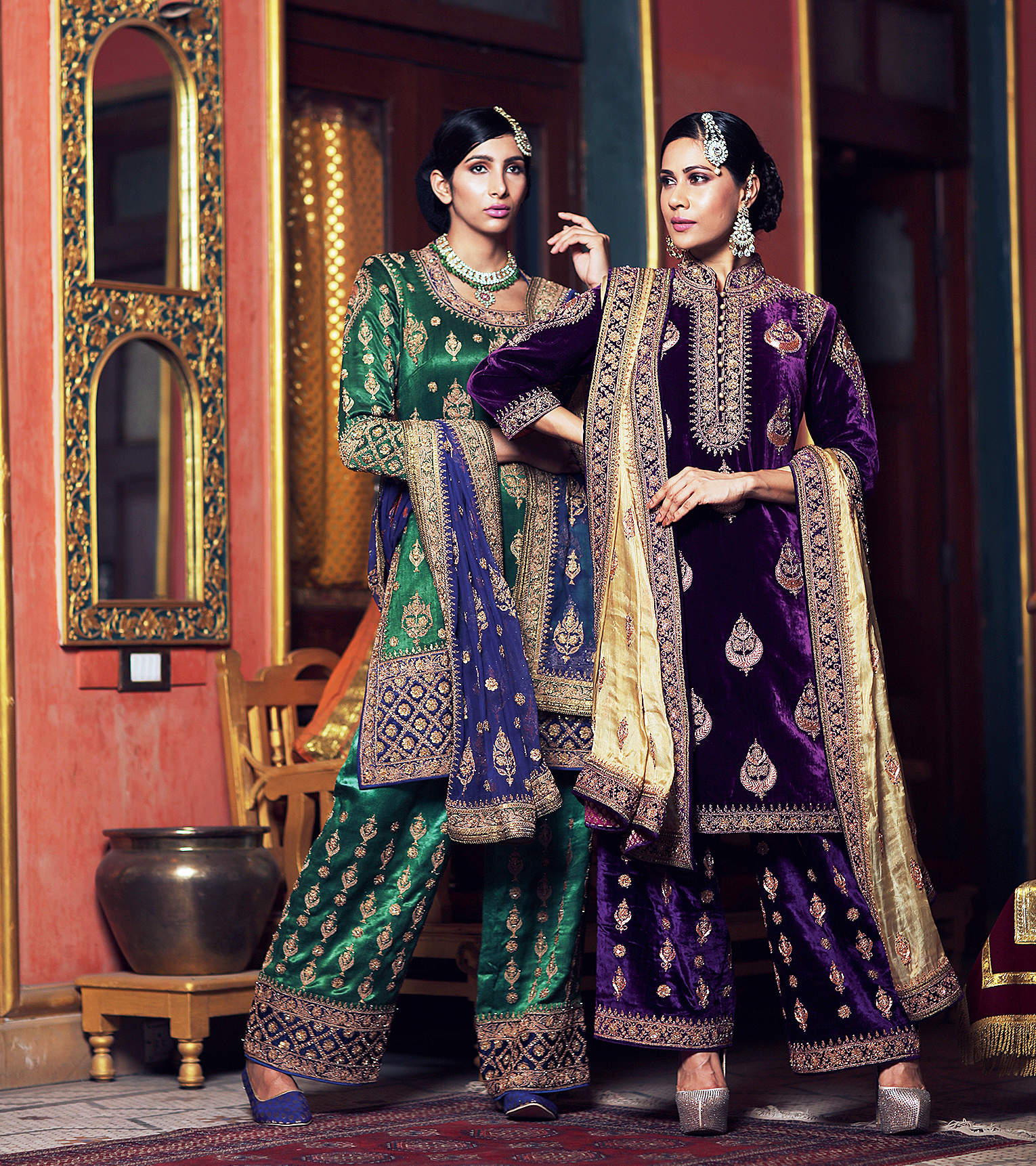 Royal costumes by Umang Hutheesing