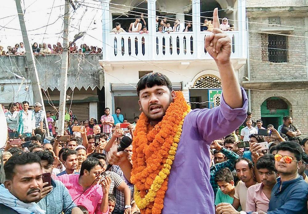 Son of the soil Kanhaiya Kumar turns symbol of resistance