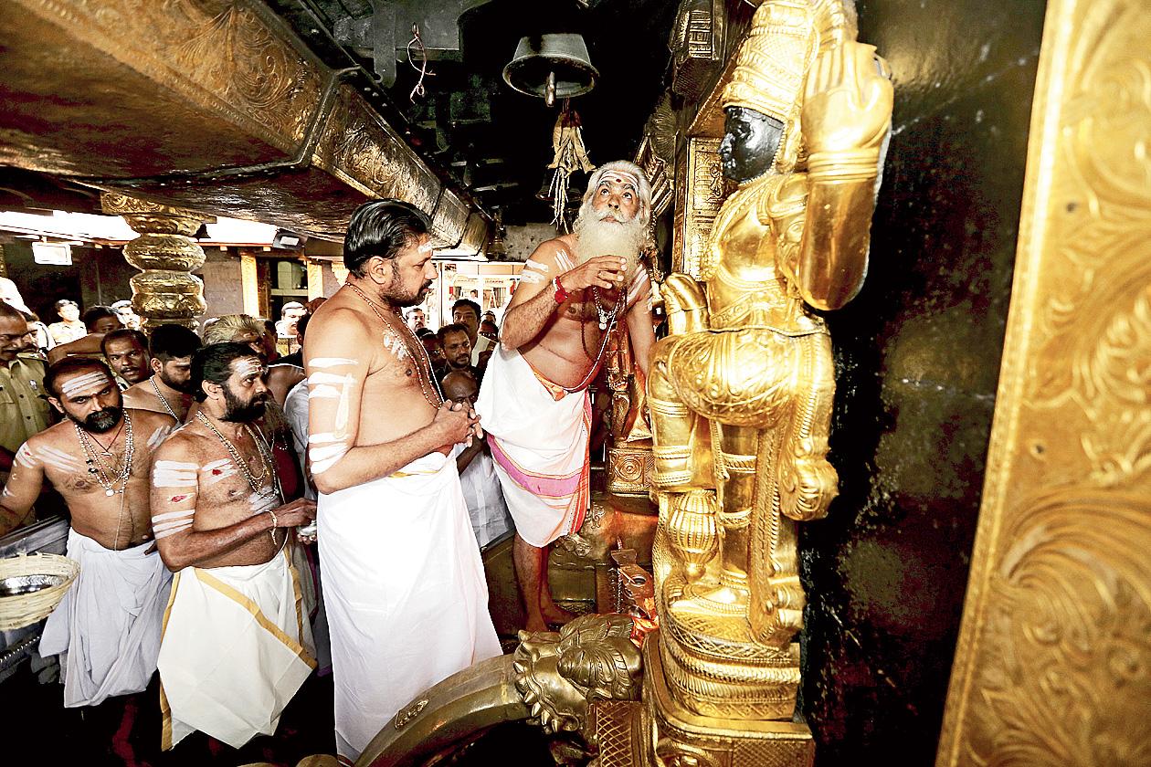 On secret camera: BJP boast on Sabarimala