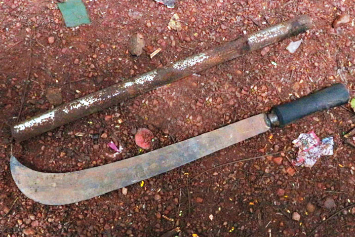 Weapons recovered in police raids after clashes in Kannur