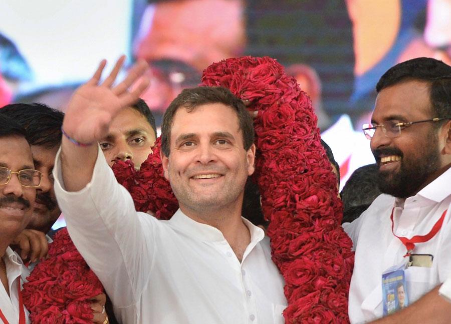 Karnataka Congress offers a seat to Rahul