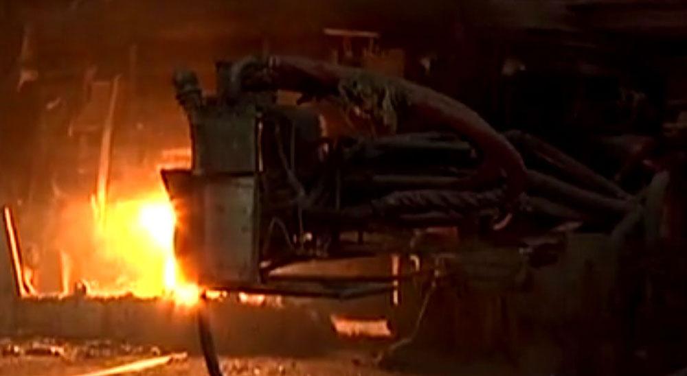 An Essar Steel facility