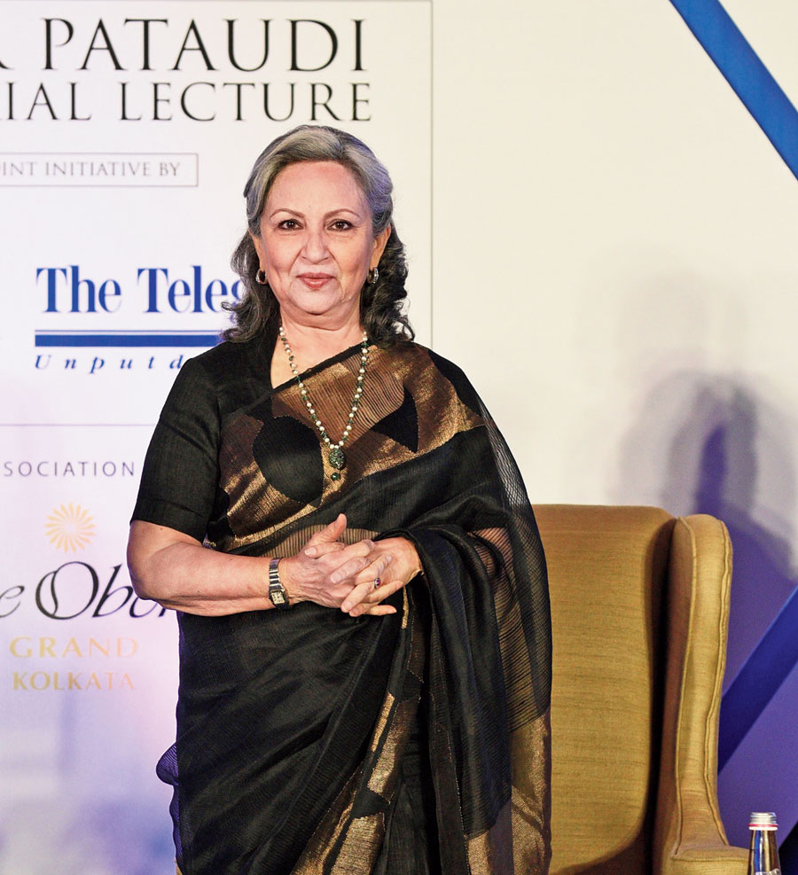 Sharmila Tagore at the Lecture.