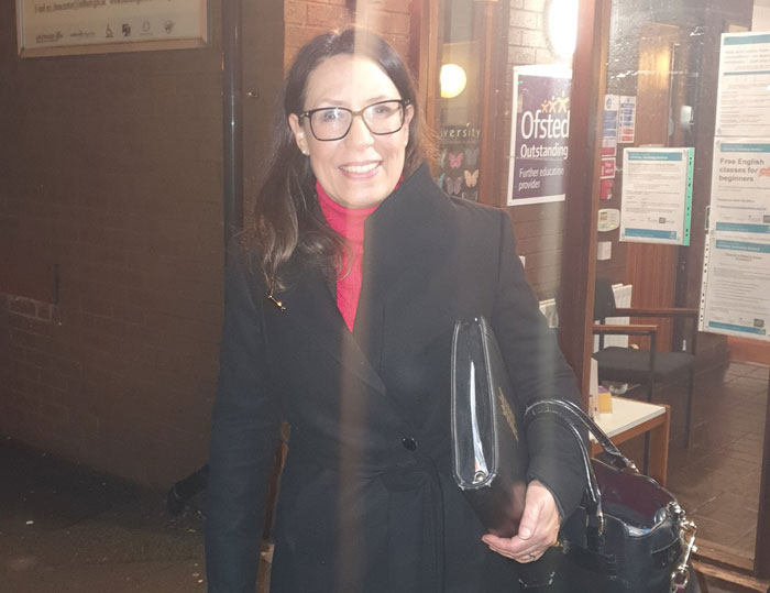 British lawmaker Debbie Abrahams