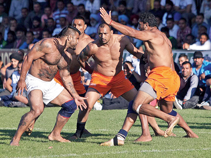 Kabaddi is integral to the Punjabi diaspora in the United Kingdom
